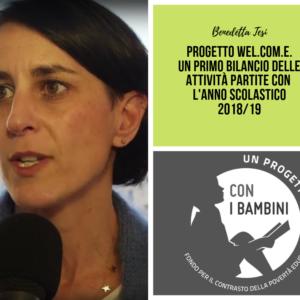 WELCOME: Benedetta Tesi illustra le attività avviate ed in fase di avvio