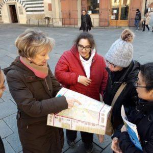 Visita guidata alla scoperta delle bellezze di Pistoia con l'associazione Tagete