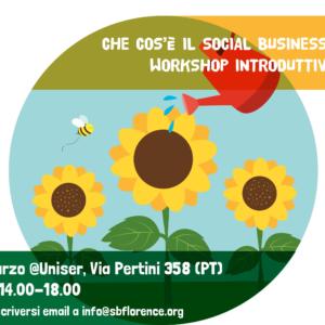 Workshop gratuito sull'impresa sociale
