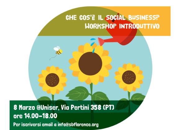 Workshop gratuito sull'impresa sociale