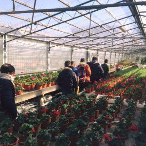 I ragazzi dell'Orto Giardino in visita all'Istituto Agrario di Pistoia