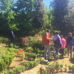 Colori in visita ai Giardini Terapeutici
