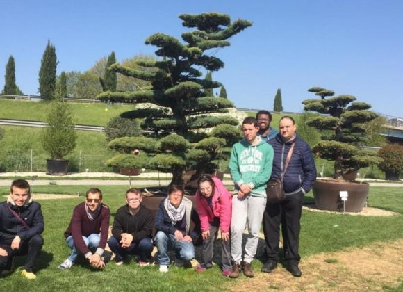 I ragazzi dell'orto giardino in visita al Pistoia Nursery Park