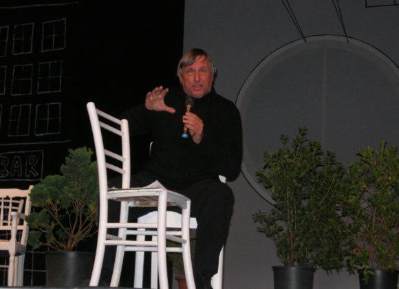 A cena con don Luigi Ciotti