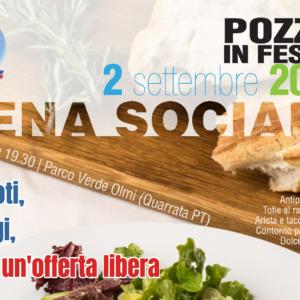 Cena Sociale al Parco Verde lunedì 2 settembre 2019