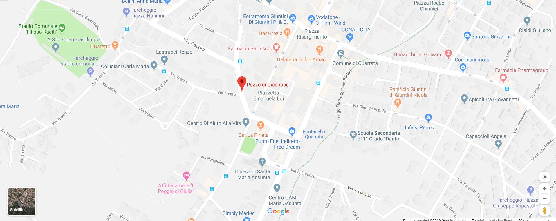 maps Pozzo di Giacobbe