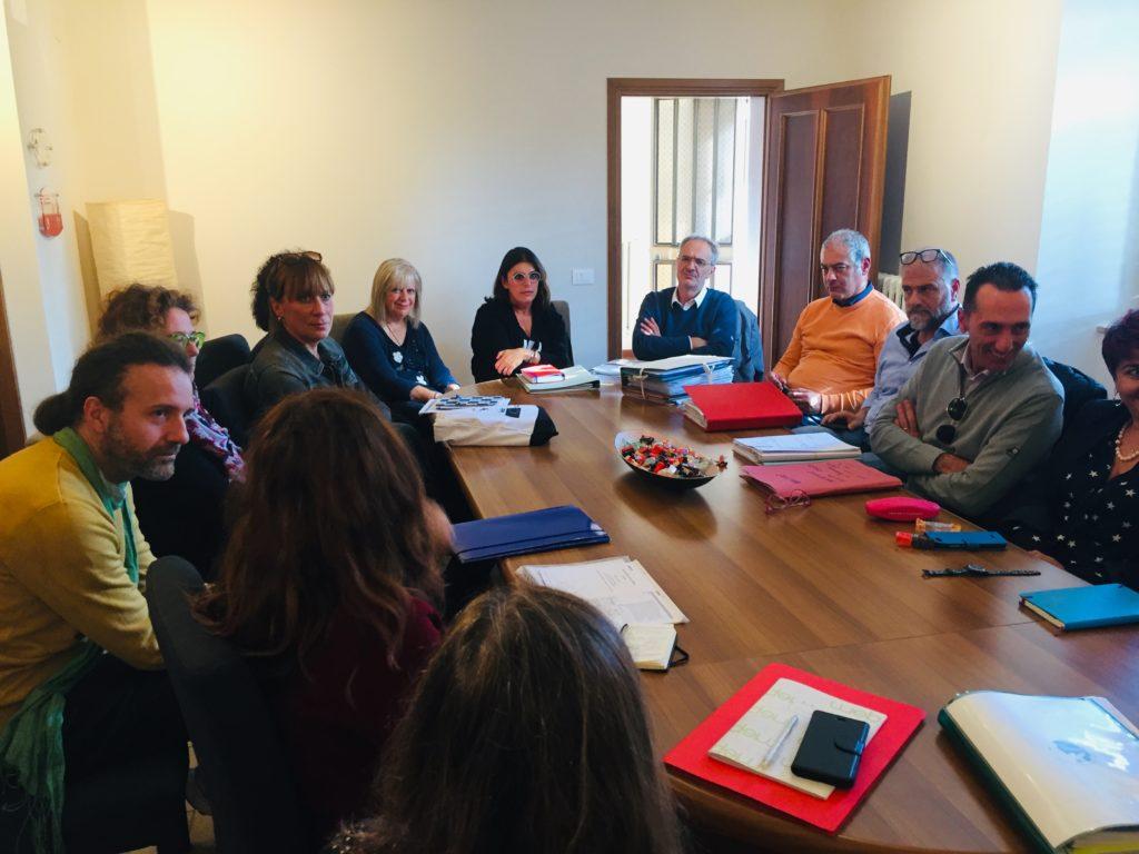 tavolo riunione incontro CIB