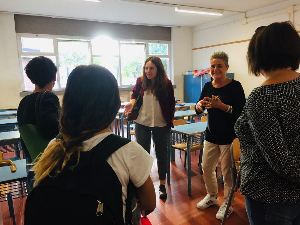 aula accogliente scuola media nannini