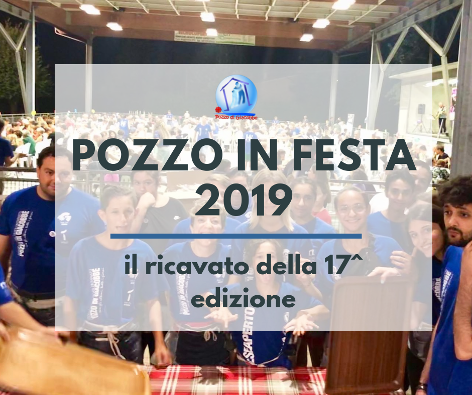 Pozzo in Festa ricavi 2019