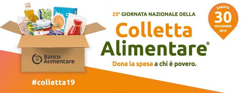 banner colletta alimentare 2019