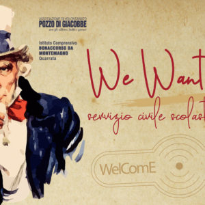 We Want YOU! Torna il Servizio Civile Scolastico Senior all'ICS Bonaccorso da Montemagno
