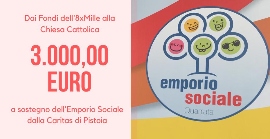 3.000,00 euro per l'Emporio Sociale