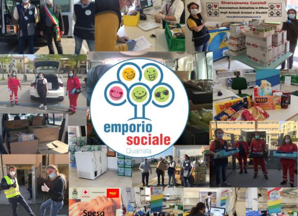 La solidarietà per l'emporio sociale nei giorni dell'emergenza