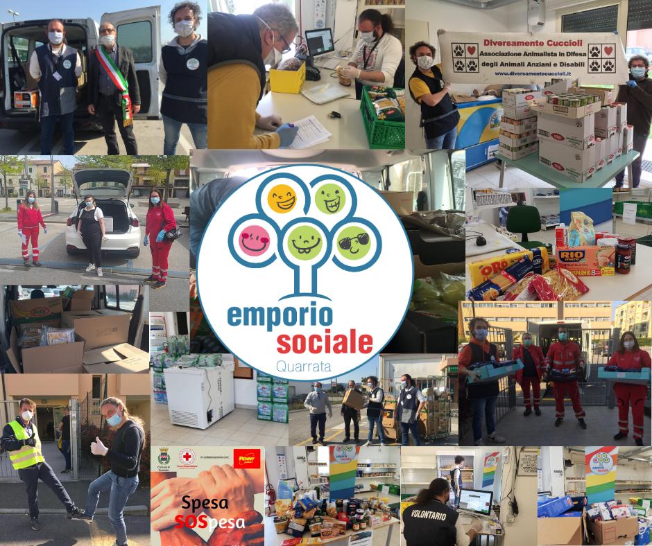 collage emporio sociale