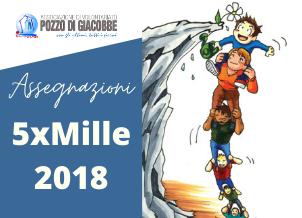 Assegnazioni 5xMille anno finanziario 2018