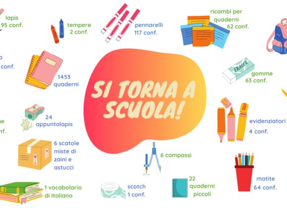 Raccolta straordinaria di materiale scolastico con Unicoop Firenze
