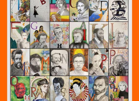 I ritratti d'autore della cooperativa scolastica Superquart