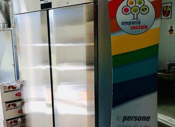 Una nuova cella frigo per l'Emporio Sociale