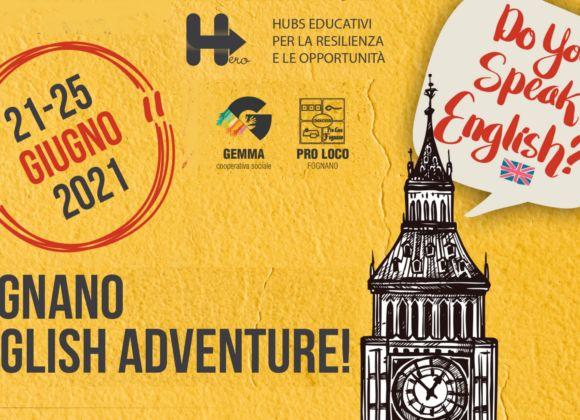 Do you speak english? Arriva Fognano English Adventure!