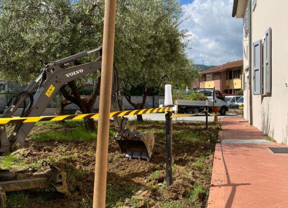 Un nuovo giardino per la sede del Pozzo grazie a HERO