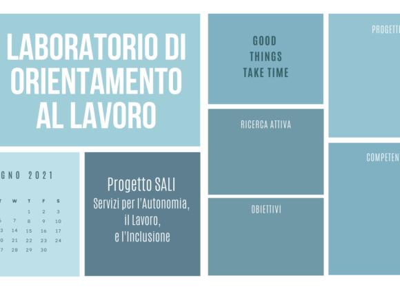 Un laboratorio di orientamento al lavoro con il progetto SALI