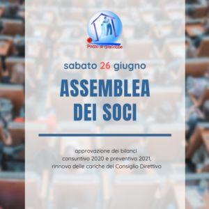 Assemblea Ordinaria dei Soci sabato 26 giugno