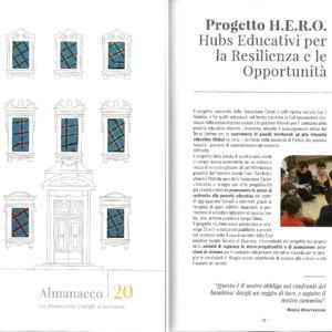 Il progetto HERO sull'Almanacco 2020 di Fondazione Caript