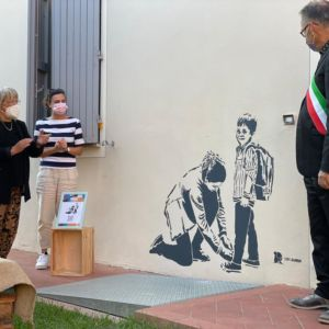 Inaugurato il murales di LDB per la Giornata Europea delle Fondazioni