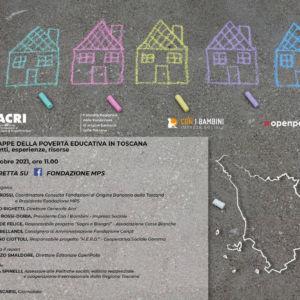 Il progetto HERO tra le esperienze invitate al webinar sulle mappe della povertà educativa in Toscana